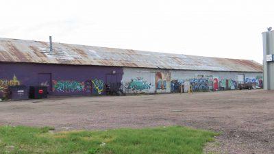 Graffiti Warehouse: East Wall