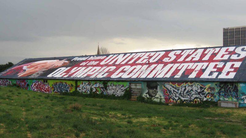 Graffiti Warehouse: West Wall