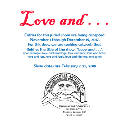 "Call for Entries for ""Love and . . ."""