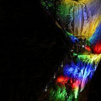 Winter Lights at The Broadmoor Seven Falls
