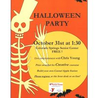 Halloween Party with Chris Young