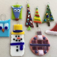 Holiday Fused Glass Classes