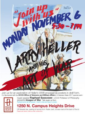 Larry Heller and his Art of War presented by Heller Center for Arts and Humanities at UCCS at UCCS - The Heller Center, Colorado Springs CO