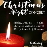 On This Christmas Night Concert