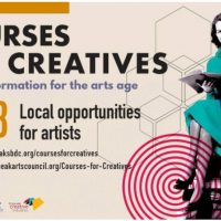 Courses for Creatives: Local Artist Opportunities