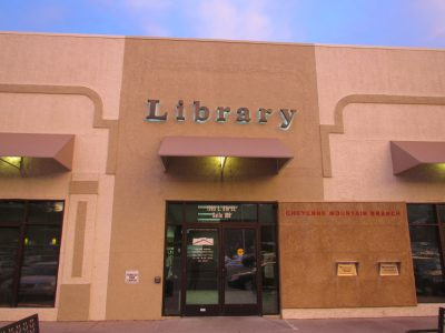 PPLD: Cheyenne Mountain Library located in Colorado Springs CO