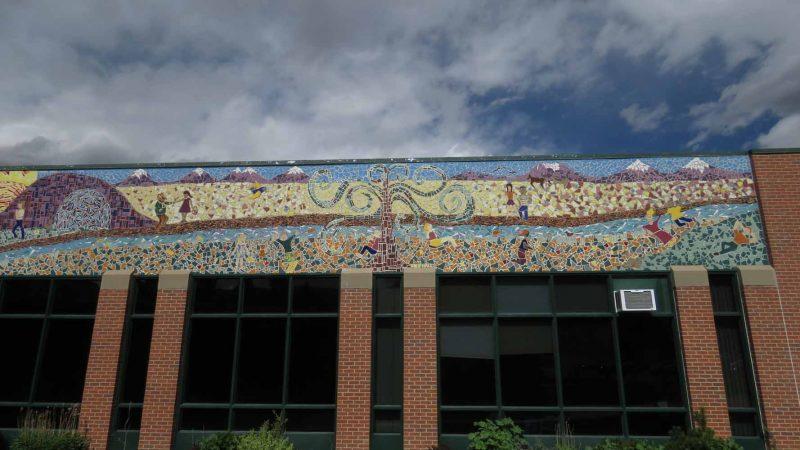 Broadmoor Elementary School: Entrance Mosaic