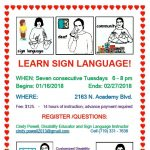 Basic Sign Language presented by  at ,