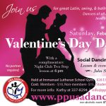 Valentine's Day Dance presented by Pikes Peak USA Dance Chapter #5020 at Immanuel Lutheran Church, Colorado Springs CO
