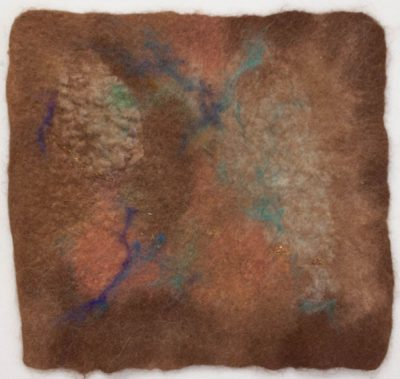 Beginning Felting: Abstract Wall Hanging presented by Textiles West at TWIL at the Manitou Art Center, Colorado Springs CO