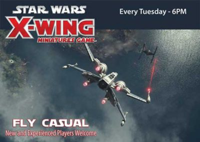 Star Wars X-Wing Fly Casual