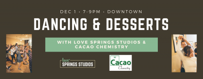 Dancing & Desserts: Country Two Step & Waltz for Beginners presented by Expanded Peak Arts Prize returns to amplify local art at ,