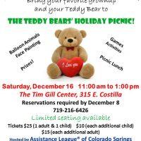 Teddy Bears' Holiday Picnic