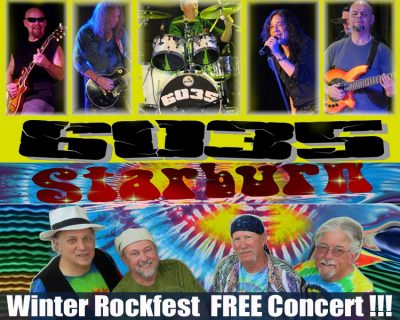 Winter Rockfest with 6035 and Starburn