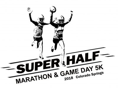 The Super Half Marathon & Game Day 5K presented by A Conversation with Adam Williams, Creator of Humanitou at Plaza of the Rockies, Colorado Springs CO