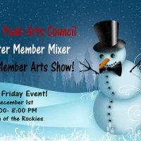 Pikes Peak Arts Council Annual Member Show Opening Reception