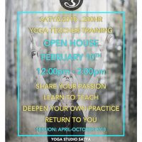 Open House: 200hr Yoga Teacher Training Q&A
