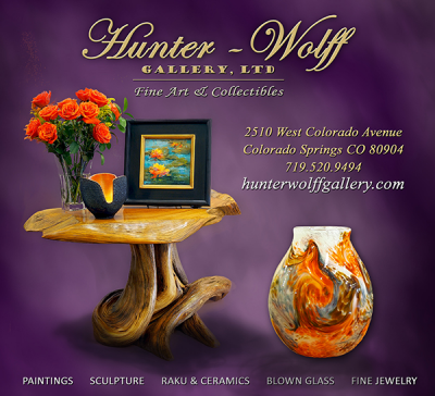 Hunter-Wolff Gallery located in Colorado Springs CO