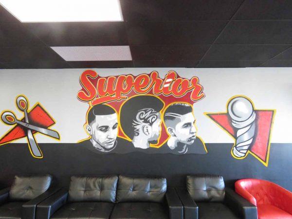 Barbershop Patrons #1