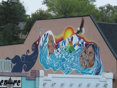 Spirit Mural of Manitou