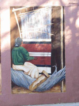 Osburns: Navajo Weaving Woman