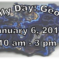 Family Day: Geology