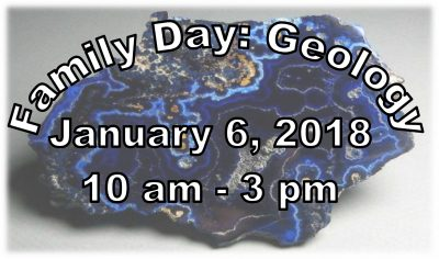 Family Day: Geology presented by Western Museum of Mining & Industry at Western Museum of Mining and Industry, Colorado Springs CO