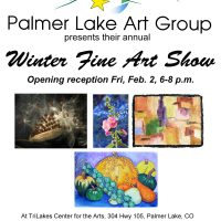 Palmer Lake Art Group Winter Show