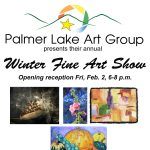 Winter Fine Art Show presented by Palmer Lake Art Group at Tri-Lakes Center for the Arts, Palmer Lake CO