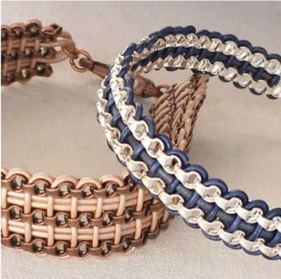 Box Chain Weave Bracelet Class presented by Gallery 132 at ,