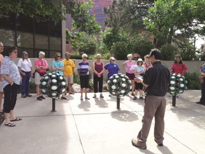 Downtown Walking Tours: Art on the Streets presented by Downtown Partnership of Colorado Springs at Downtown Colorado Springs, Colorado Springs CO