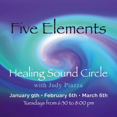 Five Elements Healing Sound Circle with Judy Piazza presented by SunWater Spa at SunWater Spa, Manitou Springs CO