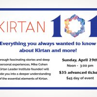 Kirtan 101 with Mike Cohen