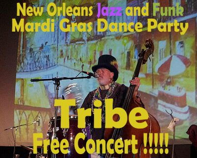 Mardi Gras Dance Party with Tribe