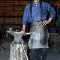 Rock Ledge Ranch Blacksmith Demonstration