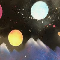 Homeschool Day: The Art of Space