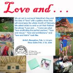 'Love and . . .' presented by Commonwheel Artists Co-op at Commonwheel Artists Co-op, Manitou Springs CO