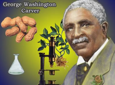 salute to george washington carver for black history month