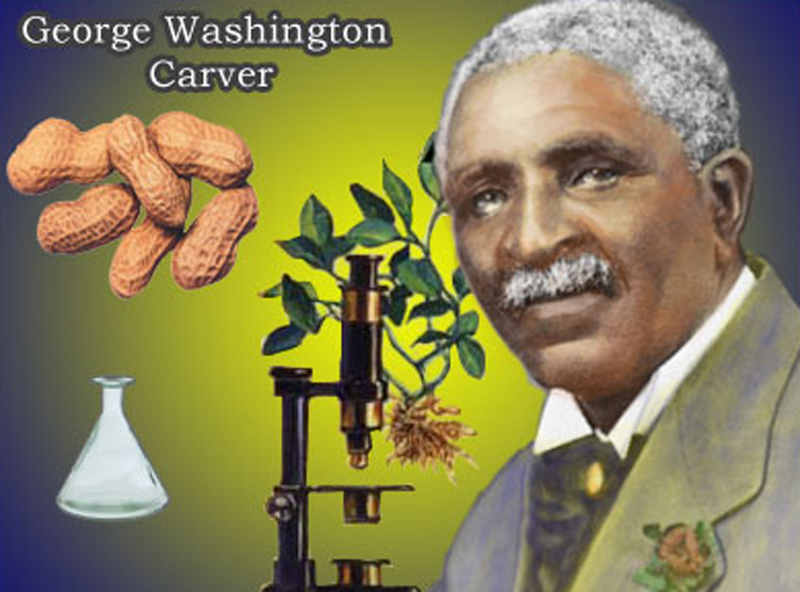 salute to george washington carver for black history month presented