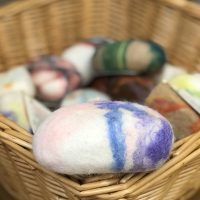 Introduction to Felting: Soap in a Washcloth