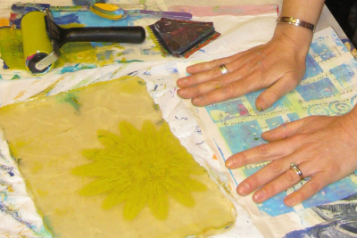 Delectable Paper and Cloth: Exploring Gelatin Plat...