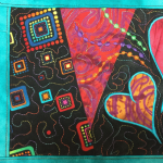 Quilted Postcard presented by Textiles West at ,