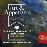 Art & Appetizers presented by  at Gold Hill Mesa Community Center, Colorado Springs CO