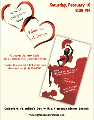 Flamenco Valentines presented by March First Friday in the Pikes Peak Region at ,