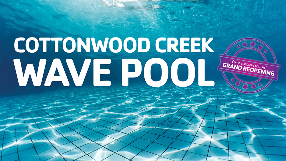 cottonwood creek wave pool grand reopening presented by ymca of the pikes peak region peakradarcom - Garden Ranch Ymca