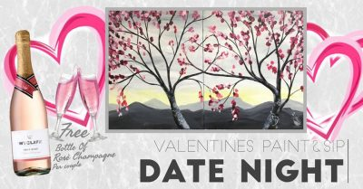 Valentines Paint&Sip Date Night presented by Painting with a Twist: Downtown Colorado Springs at Painting with a Twist Colorado Springs Downtown, Colorado Springs CO