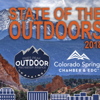 State of the Outdoors 2018 presented by Pikes Peak Outdoor Recreation Alliance at Colorado Springs City Auditorium, Colorado Springs CO