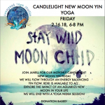 Candlelight New Moon Yin Yoga presented by  at ,