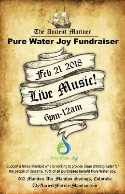 An Evening to Benefit Pure Water Joy