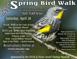 Spring Bird Walk on the Trails of Gold